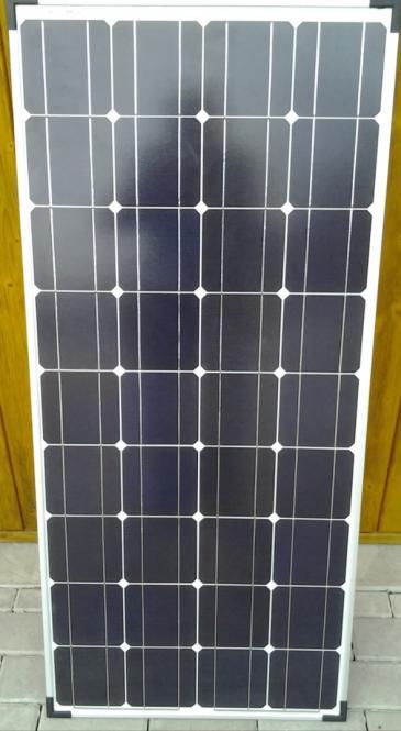 2x 100 Wp Solarmodul Monokristallin