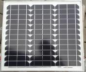 50 Wp Solarmodul Monokristallin